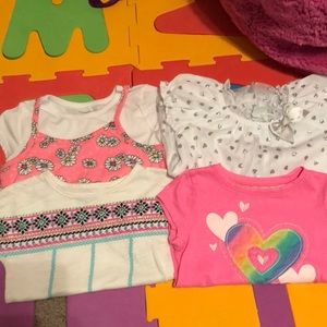 Other - Toddler girl tees and dressy top